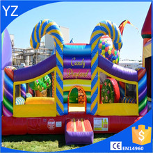 Best quality backyard fun city inflatable playland, jumping castle combos