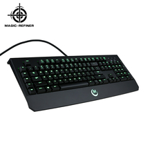 Professional desktop wired mechanical keyboard specification with gold-plated usb port