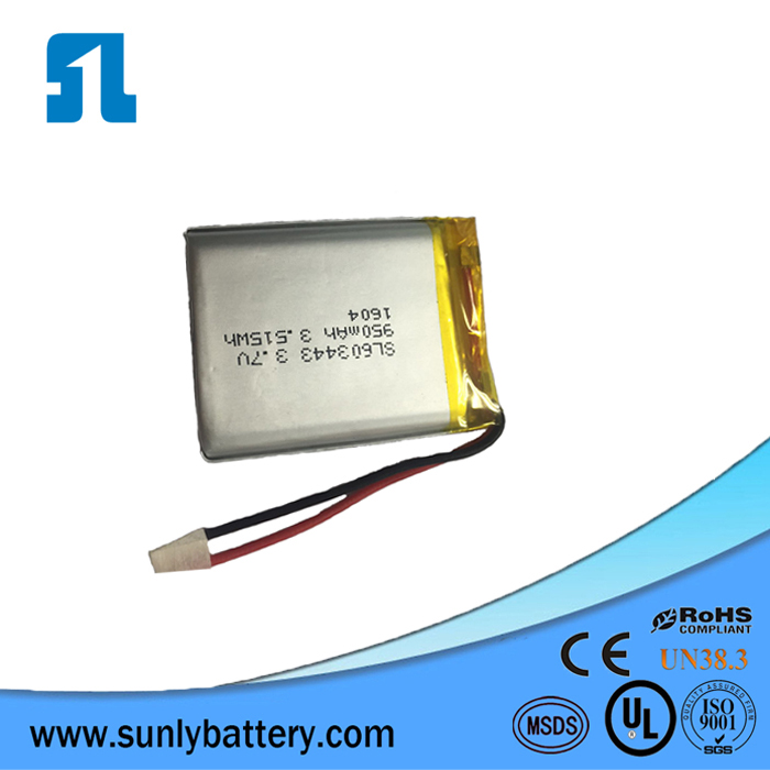 top 10 3.7 v 2000mah lipo battery from sunly battery supply