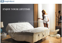 Riwei Sally Italy nature latex electric mattress