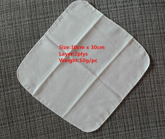 100% Cotton Muslin Cloth Face Towel
