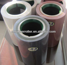 White 8 Inch EPDM Rice Mill Rubber Roller