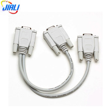 High Quality HD15 Male to 2*HD15 Female VGA Y Cable