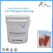 Professional red liquid silicon rubber for fiberglass sleeving China
