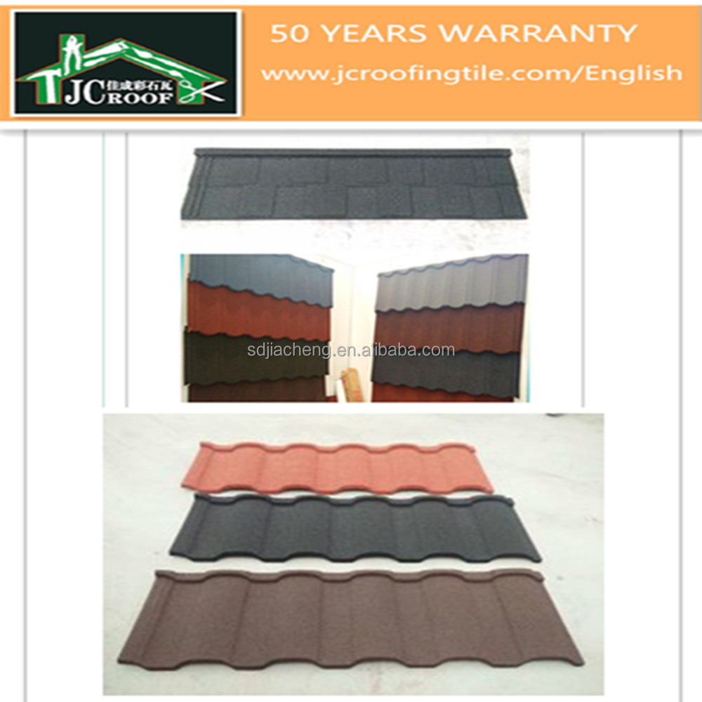 All Types Stone Coated Metal Roof Tile/Factory Wholesale Roofing Sheet