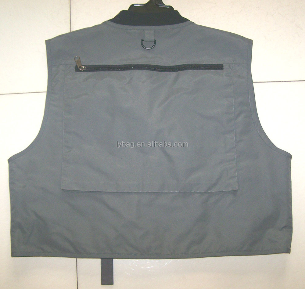 fishing vest with mesh lining