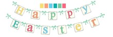2015 hot sale Easter day banner decoration wholesale