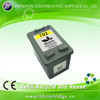 cheap printers compatible ink cartridge for hp 702 cartridge