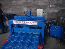 machine manufacturing clay tile used metal glazed tile roofing making machine