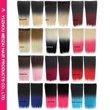Newest factory sale unique design hair pieces color synthetic from direct factory