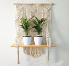 Macrame Plant Hanger Rope Flower Pot Basket Holder <strong>Wall</strong> Hanging with Tassels 4mm Cotton Rope