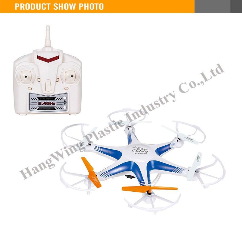 2.4G 4 Channel six Axis Remote Control For Adults R/C Plane Flying disk Remote Control Helicopter
