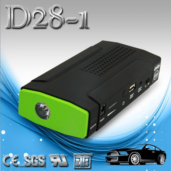 12 Volt Real 12000mah Capacity Car Battery Jump Box Jump Starter and Multi-function Power Bank
