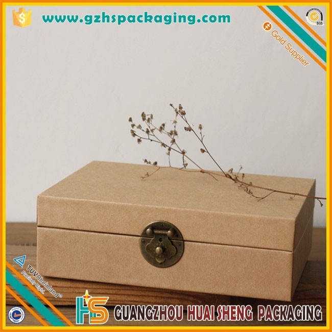 Customized Professional Secret Small Storage Box With Lock Wholesale