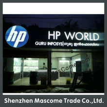 acrylic led sign brand of famous company