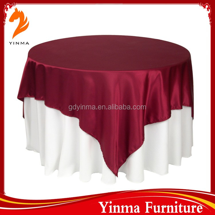 Soft silicone table cloth for events
