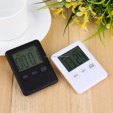 2 Colors Square Large LCD Digital Kitchen Timer Cooking Timer Alarm Clock Magnet Despertador Digital Table Clock Temporizador