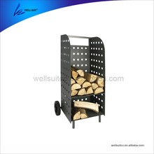 Fireplace Tools Heavy Duty Log Firewood Cart For Sale