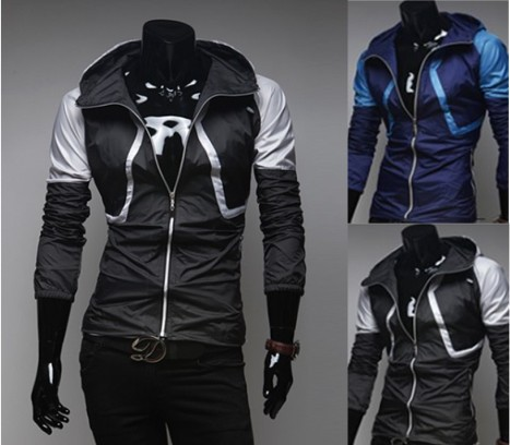 Men's Cordura Motorcyle Chaap Polyester Armor Jacket With Reflectors