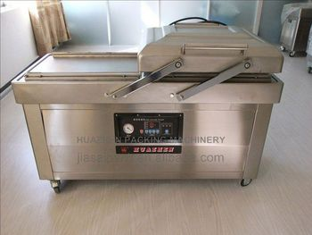 dz 400 vacuum packing machine DZ600/2C Vacuum machine for small factories packaging for chicken