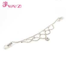 WAYZI brand bridal accessories with hair clip hair jewelry wedding hair jewelry