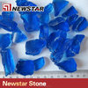 Outdoor decorative garden tumbled glass granule