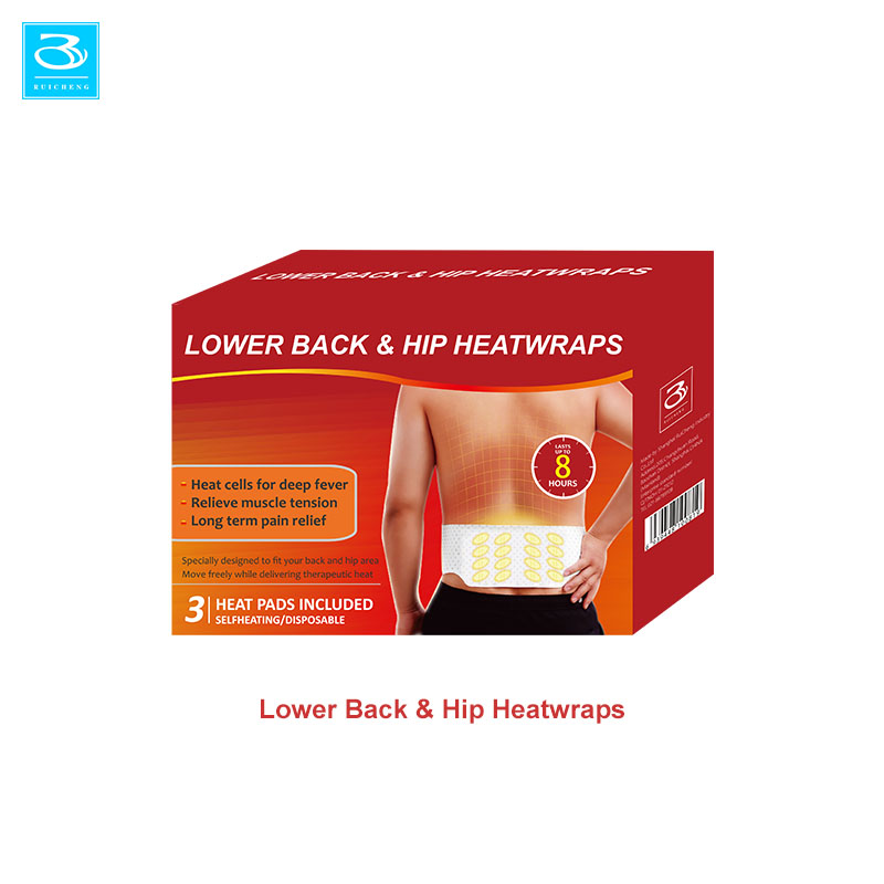 Popular Disposable Lower Back Pain Relief Patch Heating Belt Body Heat Patch