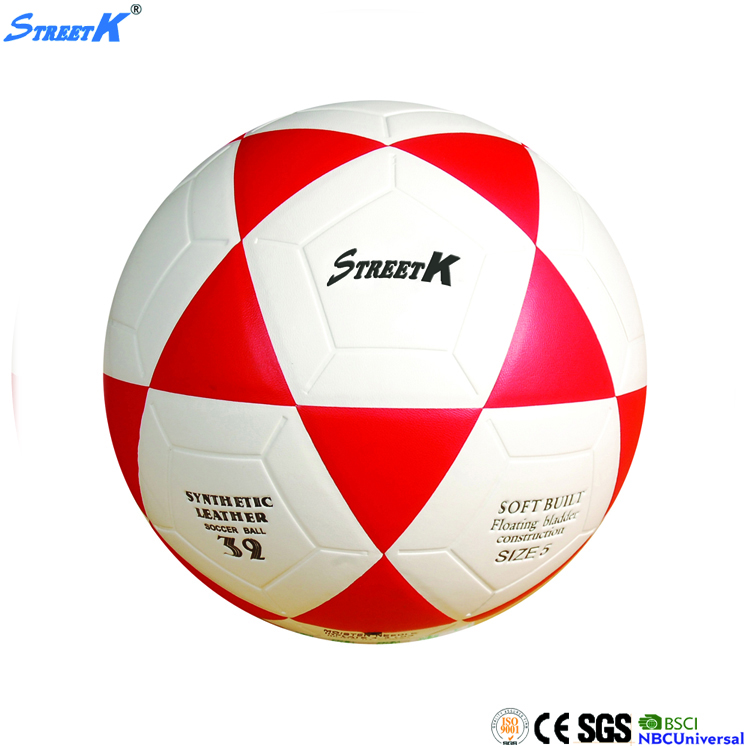 laminated soccer ball/high quality PU football balls/official size 5 soccer