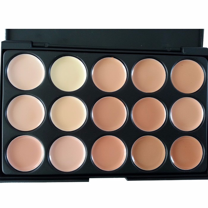 15 Colors Concealer Palette Cover Speckled Freckle <strong>Face</strong> Contouring