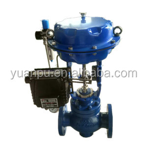 ACV-1300 Series Balance Cage Guided Type Globe Pneumatic Control Valve