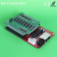 HOT sale RGB LED Display Controller A8 Card