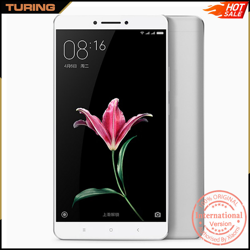 Xiaomi Mi Max China Company Best In India 2016 Long Battery Life Smartphone Mobile Phone 3GB 32GB ROM MIUI 8 Android 6.0