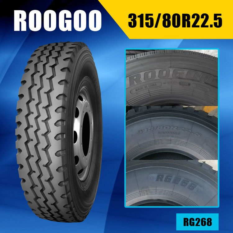 High quality tyres truck tyres 315/80R22.5 chinese tyre brands