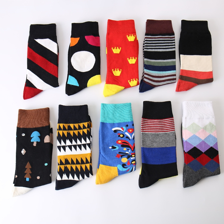 2017 manufacture new colourful make your own ankle custom cartoon tube socks men
