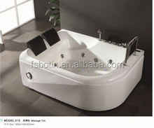 Two Persons Massage Bathtub&Three Persons Massage Tub&2014 good price whirlpool massage tubs with jacuzzi function