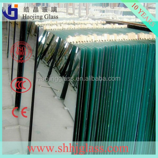 1.8mm to 6mm Mirror Glass from silver coated or aluminum coated float glass mirror