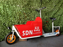 2 wheel electric BABY SCOOTER with trailer folding scooters electrical scooters for mother