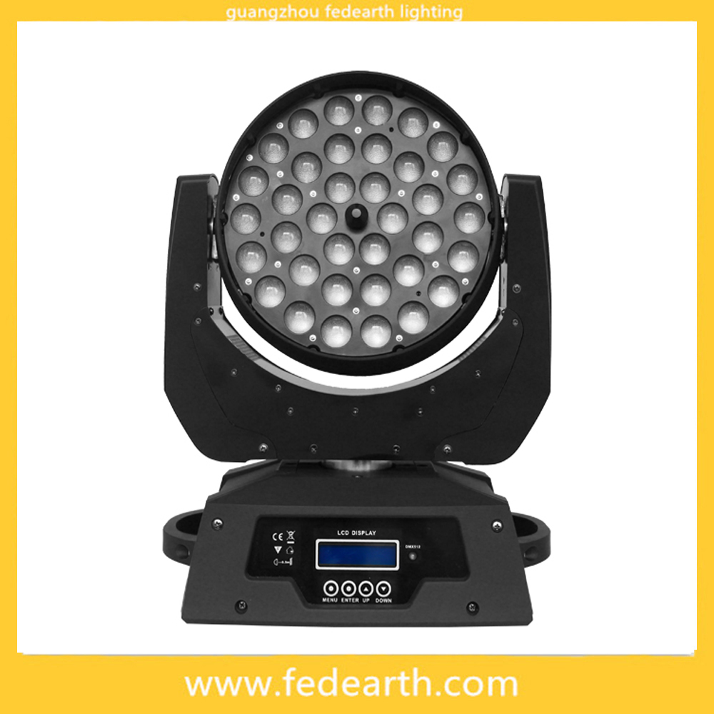 Wholesale stage light mixer 36 zoom 5 in 1 led movin head light