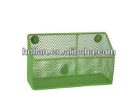 High Quality Metal Mesh Wall Hanging Desk Organizer