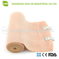 Skin colour and CE FDA ISO certificated Cotton high elastic bandage