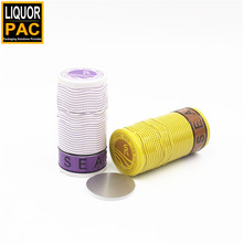 3060 mm glossy color mult-color decorative wine sealing bottle cap