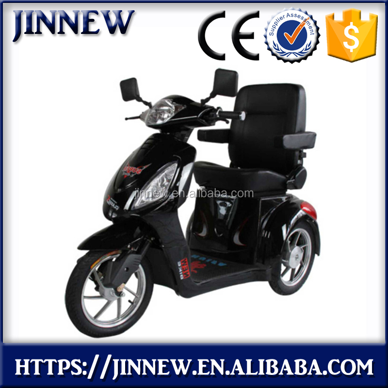 48V 500W stable handicapped electric scooter, handicapped motorcycle, electric tricycle for handicapped