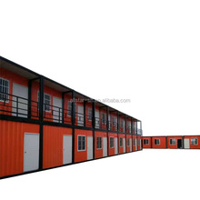 Portable prefabricated modular folding container home house