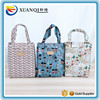 Reshine High Quality New Printing Canvas Oil Cloth Tote Bags Wholesale Waterproof