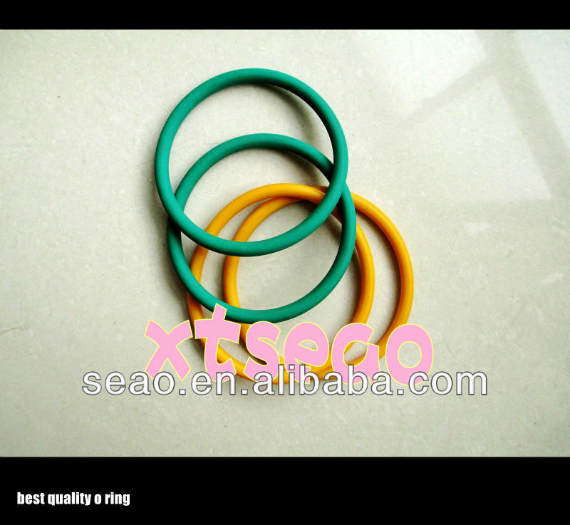 high transparent Blue yellow PU seal parts,PU O rings