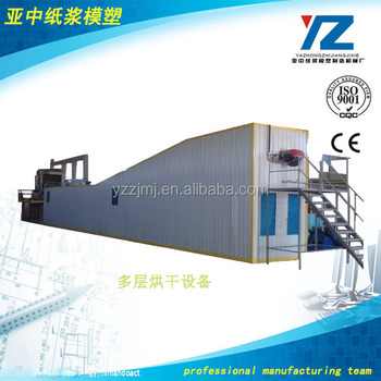 multilayer dryer for egg tray and carton machine