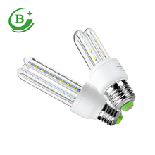 Hot sale product IC E27/B22/E14 3U energy saving led corn light bulb