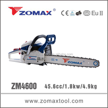 ZOMAX ZM4600 46cc chain saw 2 stroke engine ignition