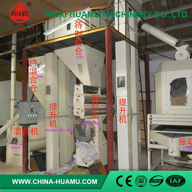 Cheap price custom competitive full feed production line for poultry