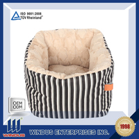 china foundry supply all sizes luxury cozy cave pet bed